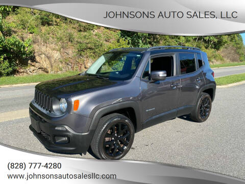 2016 Jeep Renegade for sale at Johnsons Auto Sales, LLC in Marshall NC