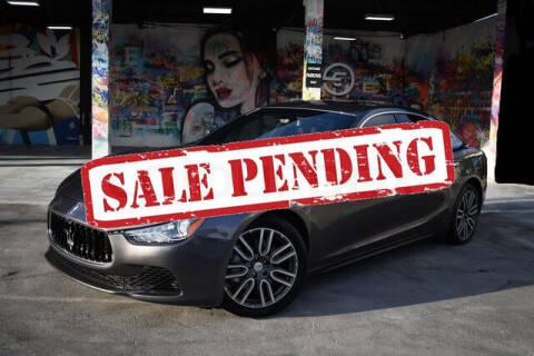 2016 Maserati Ghibli for sale at ELITE MOTOR CARS OF MIAMI in Miami FL