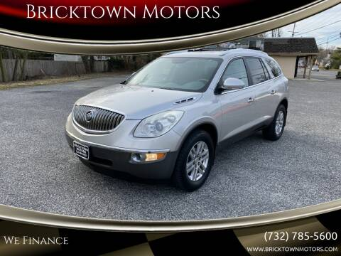 2008 Buick Enclave for sale at Bricktown Motors in Brick NJ