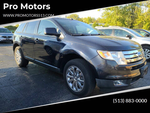 2008 Ford Edge for sale at Pro Motors in Fairfield OH