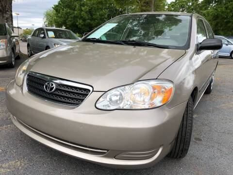 2006 Toyota Corolla for sale at Atlantic Auto Sales in Garner NC