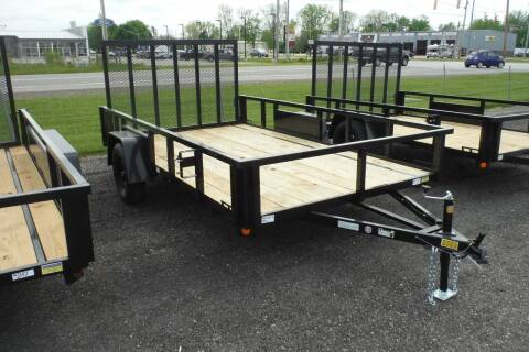 2022 Quality Steel 82x12 landscape for sale at Bryan Auto Depot in Bryan OH