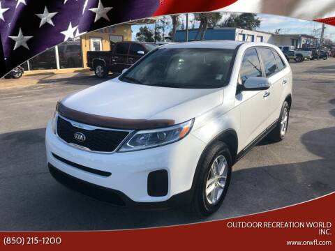 2015 Kia Sorento for sale at Outdoor Recreation World Inc. in Panama City FL
