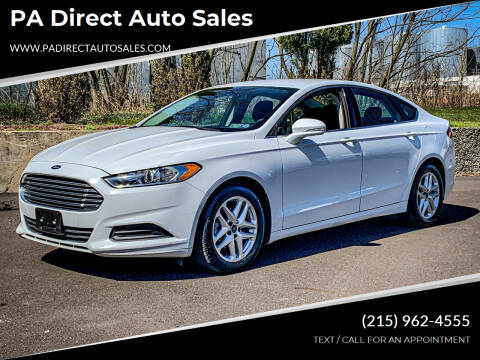 2014 Ford Fusion for sale at PA Direct Auto Sales in Levittown PA