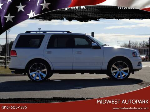 2015 Lincoln Navigator for sale at Midwest Autopark in Kansas City MO