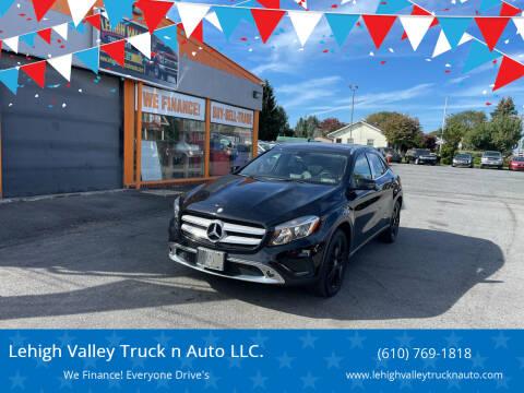 2015 Mercedes-Benz GLA for sale at Lehigh Valley Truck n Auto LLC. in Schnecksville PA