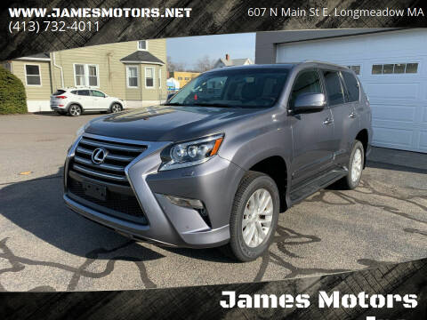 2017 Lexus GX 460 for sale at James Motors Inc. in East Longmeadow MA