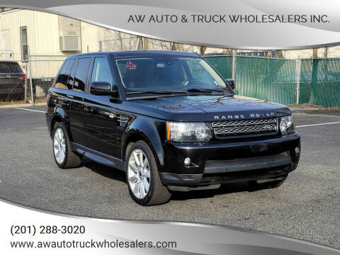 2013 Land Rover Range Rover Sport for sale at AW Auto & Truck Wholesalers  Inc. in Hasbrouck Heights NJ