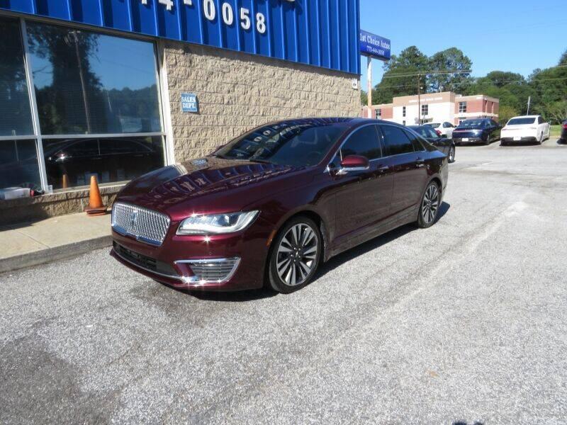 2017 Lincoln MKZ Hybrid for sale in Smyrna, GA