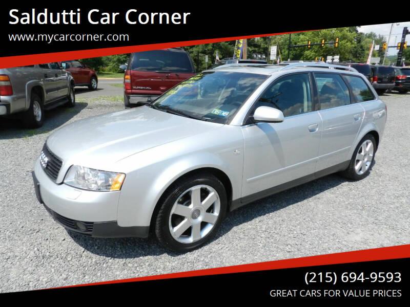 2003 Audi A4 for sale at Saldutti Car Corner in Gilbertsville PA