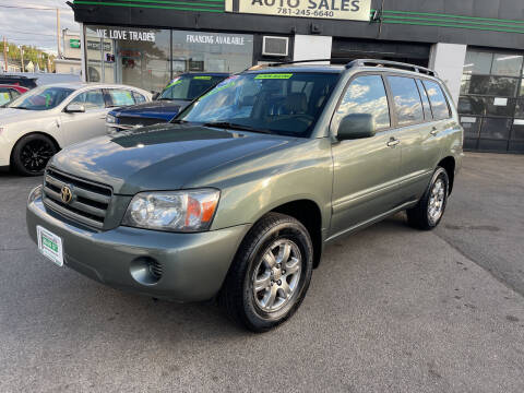 2004 Toyota Highlander for sale at Wakefield Auto Sales of Main Street Inc. in Wakefield MA