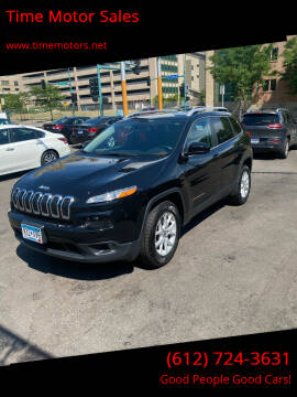 2017 Jeep Cherokee for sale at Time Motor Sales in Minneapolis MN