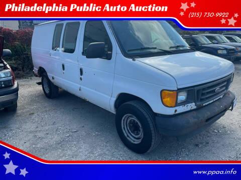 2003 Ford E-Series Cargo for sale at Philadelphia Public Auto Auction in Philadelphia PA