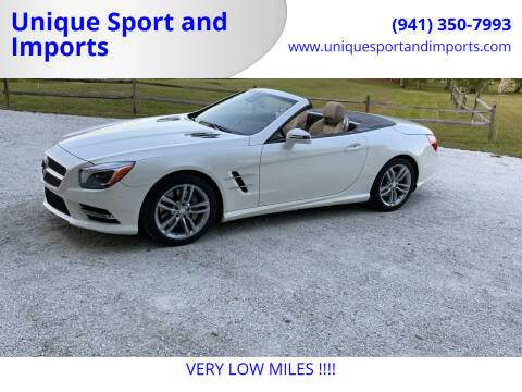 2013 Mercedes-Benz SL-Class for sale at Unique Sport and Imports in Sarasota FL