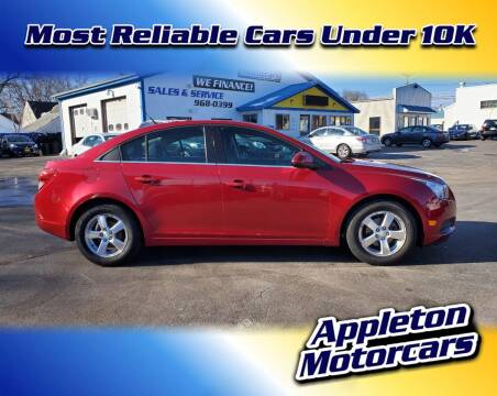 2012 Chevrolet Cruze for sale at Appleton Motorcars Sales & Service in Appleton WI
