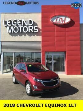 2018 Chevrolet Equinox for sale at Legend Motors of Ferndale in Ferndale MI
