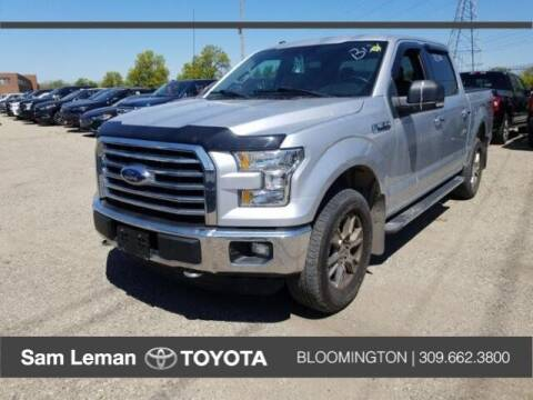 2016 Ford F-150 for sale at Sam Leman Toyota Bloomington in Bloomington IL