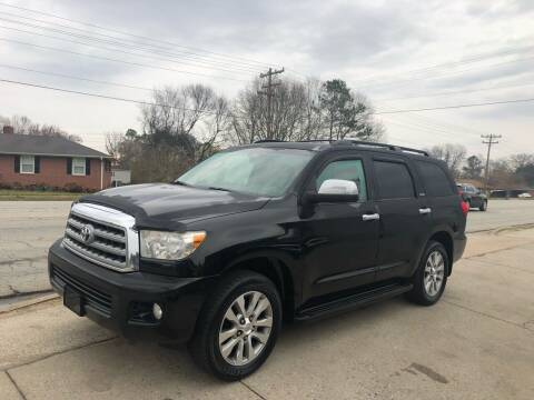 2010 Toyota Sequoia for sale at E Motors LLC in Anderson SC