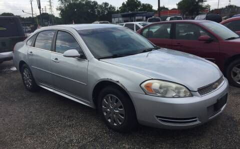2012 Chevrolet Impala for sale at BSA Used Cars in Pasadena TX