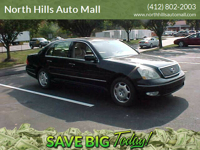 2002 Lexus LS 430 for sale at North Hills Auto Mall in Pittsburgh PA