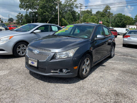 2013 Chevrolet Cruze for sale at Credit Connection Auto Sales Dover in Dover PA
