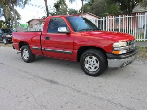1999 Chevrolet Silverado 1500 for sale at TROPICAL MOTOR CARS INC in Miami FL