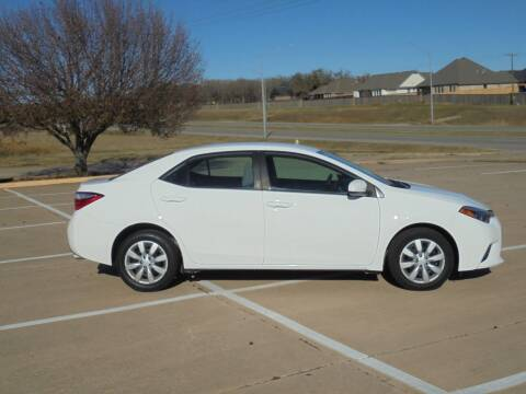 2016 Toyota Corolla for sale at MANGUM AUTO SALES in Duncan OK