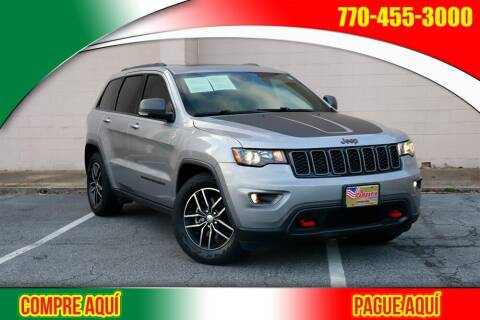 2017 Jeep Grand Cherokee for sale at El Compadre Trucks in Doraville GA