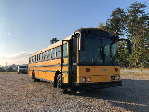 2003 Thomas Built Buses Thomas Saf T Liner Bus for sale at Hillside Motors Inc. in Hickory NC
