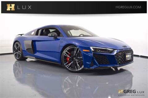 2020 Audi R8 for sale at HGREG LUX EXCLUSIVE MOTORCARS in Pompano Beach FL