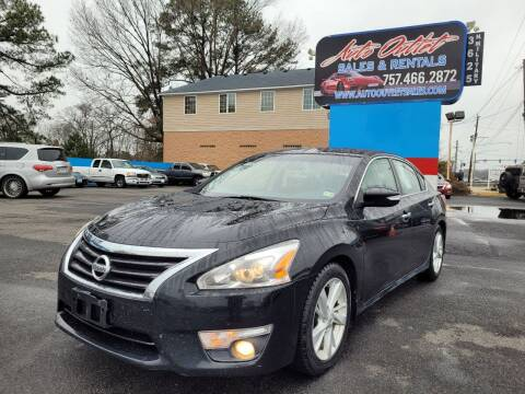 2013 Nissan Altima for sale at Auto Outlet Sales and Rentals in Norfolk VA