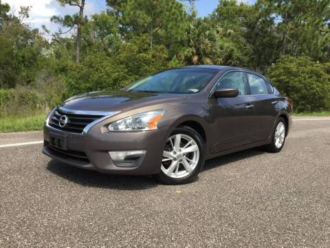 2013 Nissan Altima for sale at VICTORY LANE AUTO SALES in Port Richey FL
