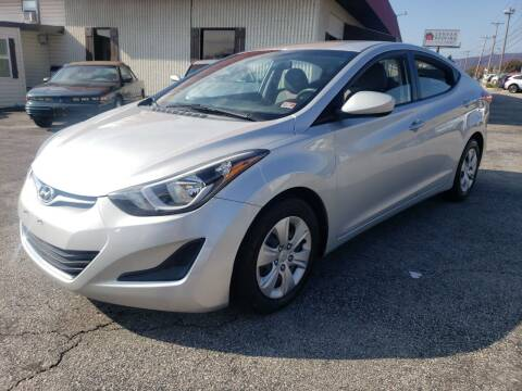 2016 Hyundai Elantra for sale at Salem Auto Sales in Salem VA