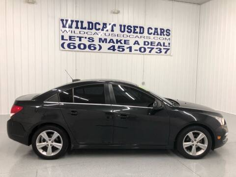 2015 Chevrolet Cruze for sale at Wildcat Used Cars in Somerset KY