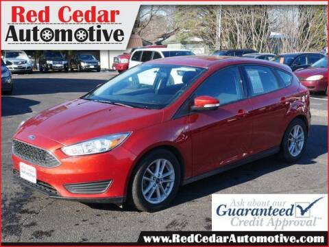 2018 Ford Focus for sale at Red Cedar Automotive in Menomonie WI