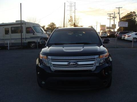 2014 Ford Explorer for sale at Knoxville Used Cars in Knoxville TN