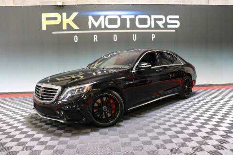 2016 Mercedes-Benz S-Class for sale at PK MOTORS GROUP in Las Vegas NV