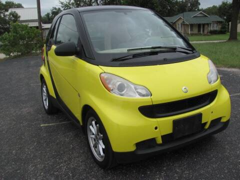 2008 Smart fortwo for sale at Rons Auto Sales in Stockdale TX