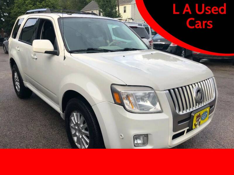 2010 Mercury Mariner for sale at L A Used Cars in Abington MA