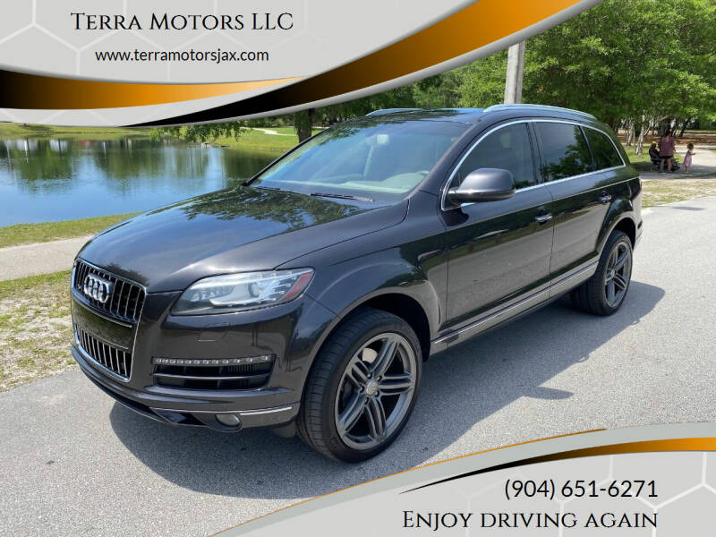 2013 Audi Q7 for sale at Terra Motors LLC in Jacksonville FL