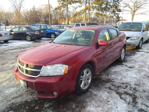 2010 Dodge Avenger for sale at Continental Auto Sales in White Bear Lake MN