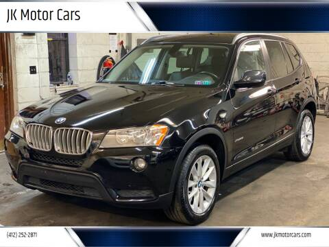 2013 BMW X3 for sale at JK Motor Cars in Pittsburgh PA