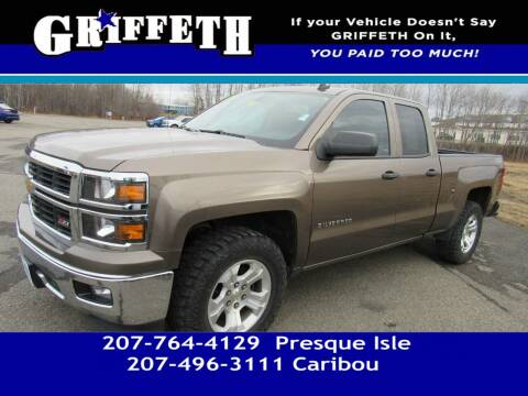 2014 Chevrolet Silverado 1500 for sale at Griffeth Mitsubishi - Pre-owned in Caribou ME