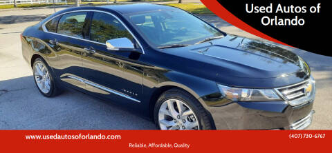 2020 Chevrolet Impala for sale at Used Autos of Orlando in Orlando FL