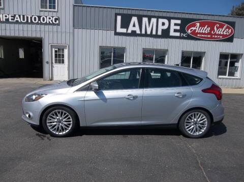 2014 Ford Focus for sale at Lampe Auto Sales in Merrill IA