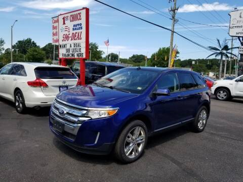 2013 Ford Edge for sale at 1st Choice Auto Sales in Newport News VA