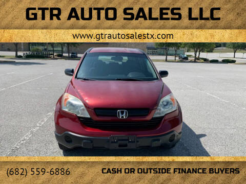 2008 Honda CR-V for sale at GTR Auto Sales LLC in Haltom City TX