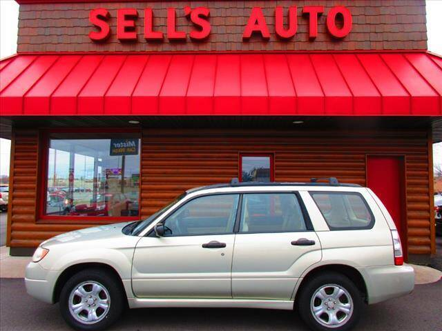 2007 Subaru Forester for sale at Sells Auto INC in Saint Cloud MN