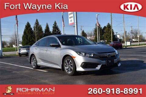 2018 Honda Civic for sale at BOB ROHRMAN FORT WAYNE TOYOTA in Fort Wayne IN