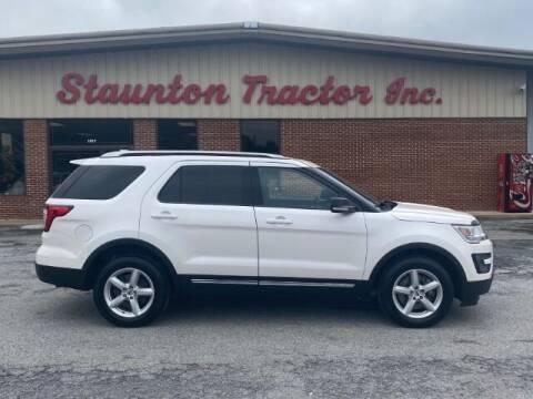 2016 Ford Explorer for sale at STAUNTON TRACTOR INC in Staunton VA